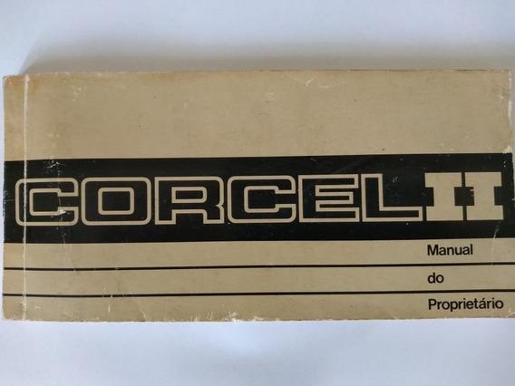 Manual Proprietário Ford Corcel Ii 1978