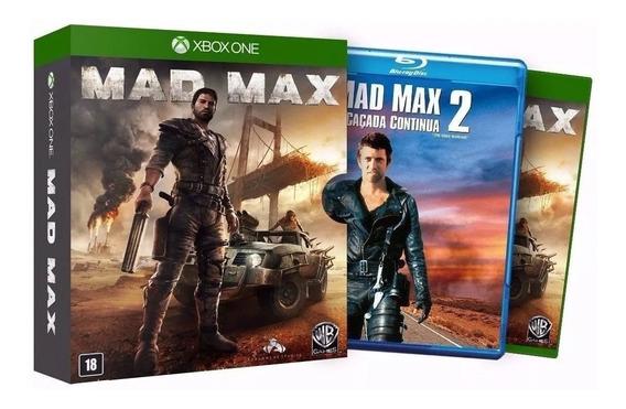 Mad Max Ed Limitada - Midia Fisica Original Lacrado Xbox One