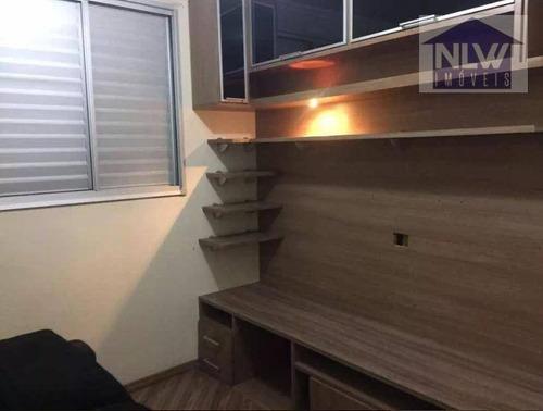 Apartamento Com 2 Dormitórios À Venda, 51 M² Por R$ 371.000,00 - Vila Carrão - São Paulo/sp - Ap1289