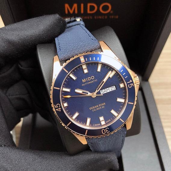 Relógio Mido Ocean Star Automático Azul - M026.430.36.041.00