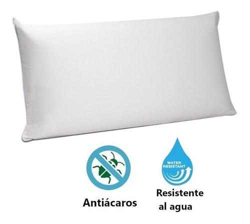 Imagen 1 de 2 de Funda Para Almohada Impermeable / Anti-fluido 65x45cm