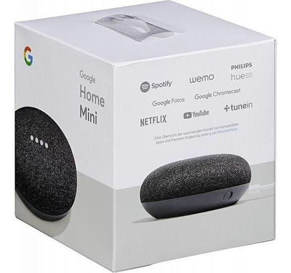 Assitente Google Home Mini Caixa De Som