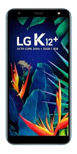 Celular Smartphone LG K12+ X420b 32gb Azul - Dual Chip