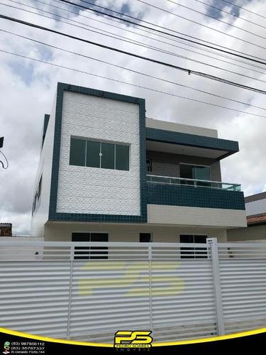 Oportunidade Apartamento, 02 Quartos, Suíte, 01 Vagas, 49,00m², Por Apenas R$ 140.000,00, Em Mangabeira, João Pessoa - Paraíba - Ap2741