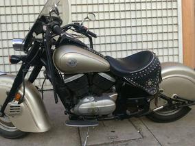 ¡remato!... Indian Tribute Kawasaki Drifter De Colección