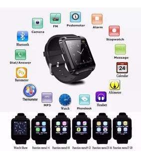 Smartwatch U8 Relógio Inteligente Bluetooth Androide iPhone