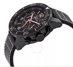 Relógio Invicta Masculino Aviator 24554/ Couro/ 100m