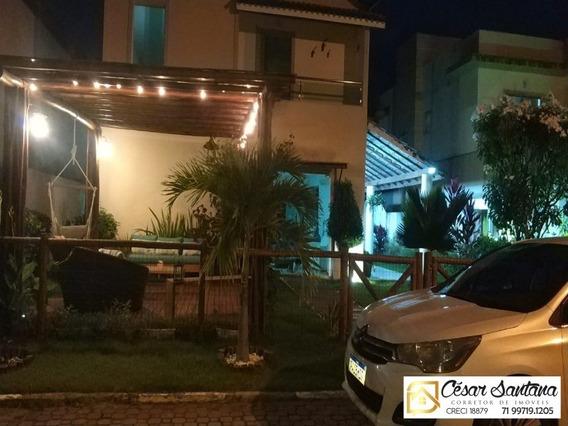 Casa Duplex 3 Suítes, Reserva Mundo Verde, Jauá - Camaçari - Ca00564 - 34473936