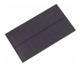 Painel Placa Célula Energia Solar Fotovoltaica 5v 1w