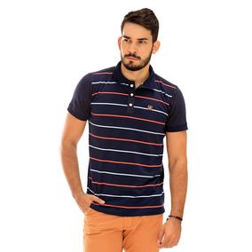 Camisa Polo Masculina Premium De Algodão   Kit Com 5 Camisas