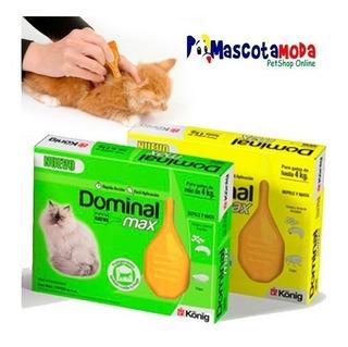 Antipulgas Dominal Pipetas Para Gatos 30 Dias Sin Pulgas