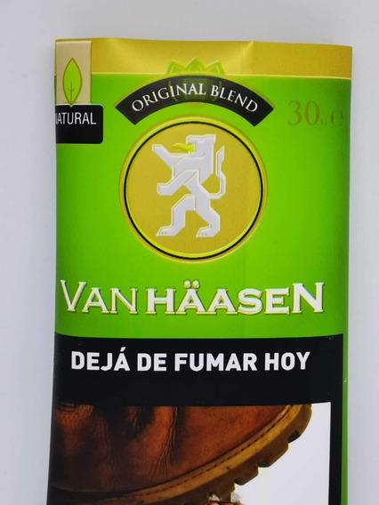 Tabaco Van Haasen X30 Tabaco Para Armar Verde Promo