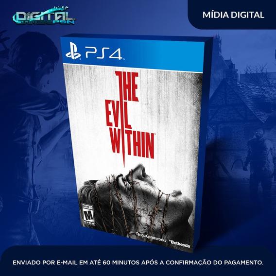 The Evil Within Ps4 Psn Jogo Digital Envio Hoje!
