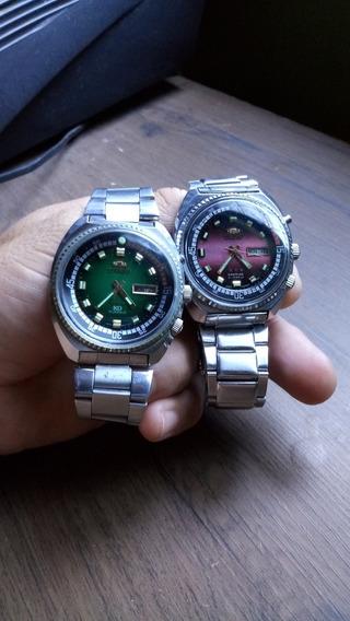 Dois Relógios Orient Kd Automáticos. Super Conservado