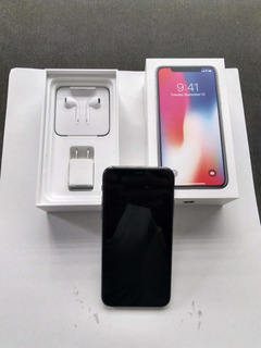 iPhone X 256 Negro Liberado (apple Care)