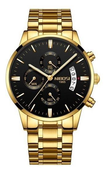 Relógio Nibosi Parcelamento S/juros Promoção Valentinesdays