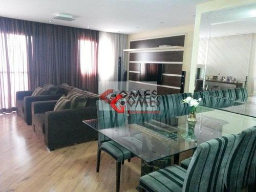 Apartamento Com 2 Dormitórios À Venda, 104 M² Por R$ 725.000,00 - Centro - São Bernardo Do Campo/sp - Ap1037