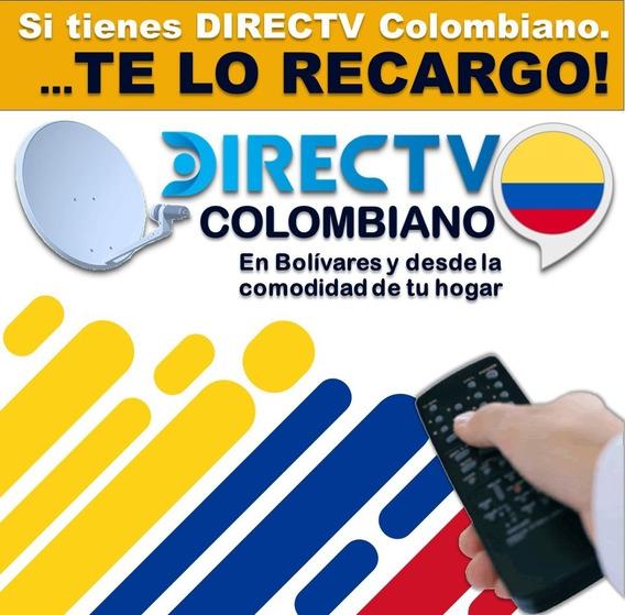Recargas Y Reactivación De Equipos Directv Colombiano