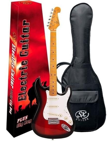 Guitarra Sx Sst57 Stratocaster Vintage Series Sunburst 2ts