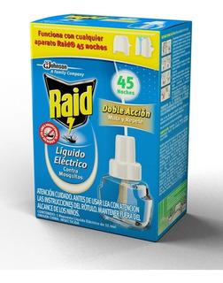 Raid Líquido Eléctrico Doble Acción Repuesto - 3 Unidades