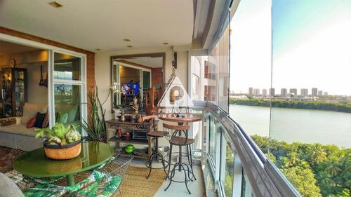 Imagem 1 de 25 de Apartamento À Venda, 3 Quartos, 3 Suítes, 2 Vagas, Barra Da Tijuca - Rio De Janeiro/rj - 29835