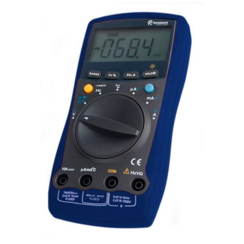 Multimetro Digital Incoterm Md430