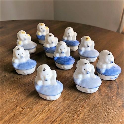 Kit Com 10 Bebes De Porcelana. 1 Ano. Maternidade
