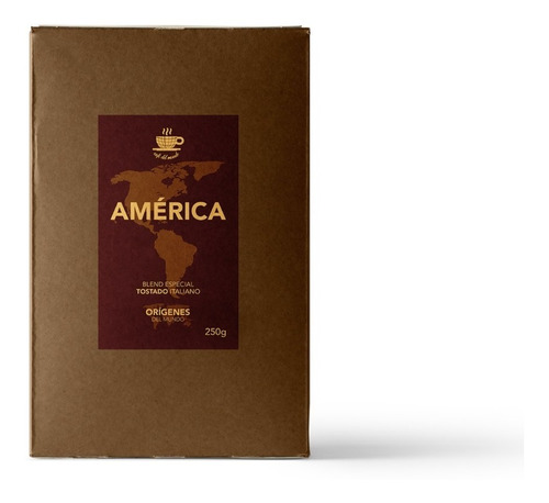 Imagen 1 de 6 de Café En Grano Blend América