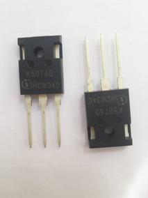 Transistor Igbt K50t60 50t60 600v 80a Kit Com 15 Unidades