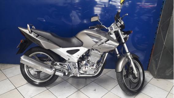 Honda Cbx 250 Twister Cinza 2008