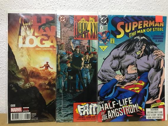 Historietas Comics Marvel Dc Superman Batman Old Logan