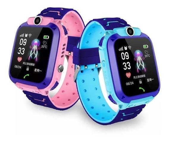 Q12 Reloj Inteligente Para Niños Ip67 Pantalla Táctil A Prue
