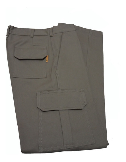 Pantalon Cargo Gaucho Original Color Beige