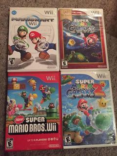 Juegos Wii Mario Bros Galaxy Kart All Stars