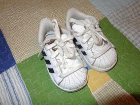Zapatos adidas Super Star Niños Talla 21