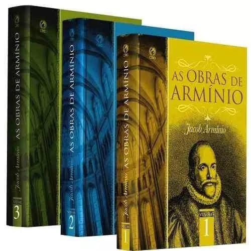 Lr12 As Obras De Armínio Coleção Completa Cpad Vol 1, 2 E 3
