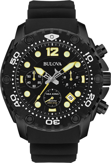 Bulova Sea King 98b243 Precisionist Novo Prova Dágua 300m