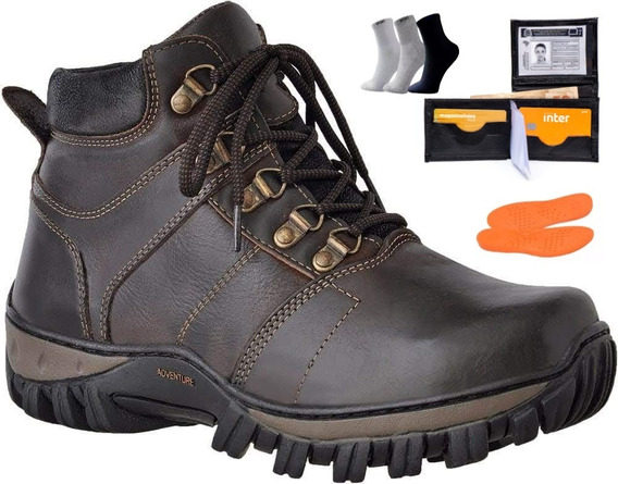 Bota Masc Advent Estl Bull Terrier Timberland Macboot Couro