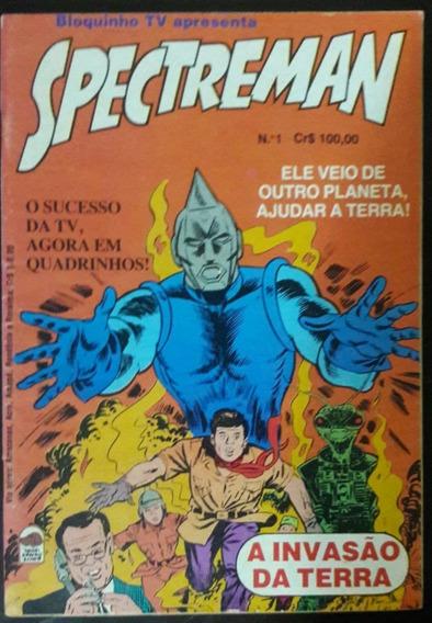 Hqs - Spectreman - A Invasão Da Terra -1982 - Raro