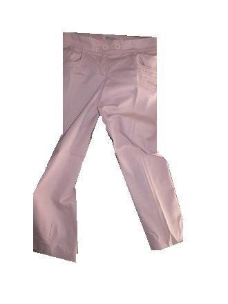Pantalón Ayres Cero Color Rosa Algodón Xs Usado Impecable