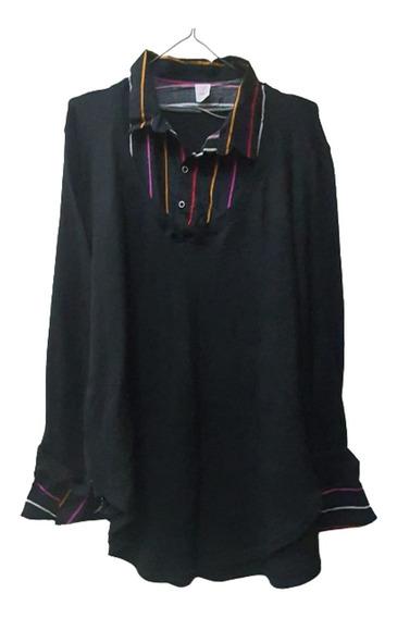 Camisa -buzo Lanilla Superpuesta T. 2 Al 10 - Especial