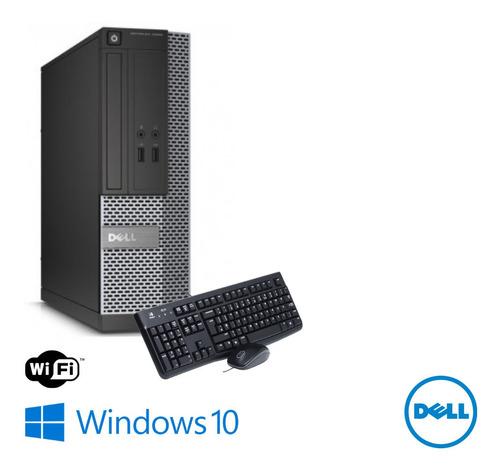 Imagem 1 de 2 de Computador Dell Core I5 4th 4gb Ram Ssd 120 Windows 10 Usado