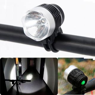 Luz Luces Bicicleta Delantera Foco Linterna Led Envio Gratis