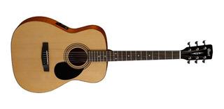 Guitarra Electroacustica Cort Af510e Con Funda - Cuotas