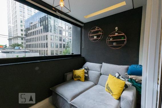 Studio No 3º Andar Mobiliado Com 1 Dormitório E 1 Garagem - Id: 892959402 - 259402