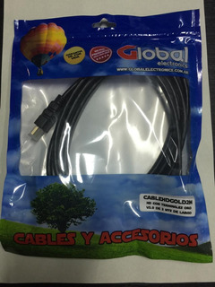 Cable Hdmi Global 2.0 Mtrs