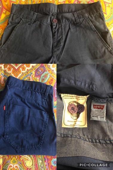 Pantalones Bensimon, Gola, Levis Y Timberland