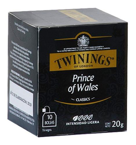 Imagen 1 de 7 de Te Negro Twinings Prince Of Wales Classics - Caja X10 Sobres