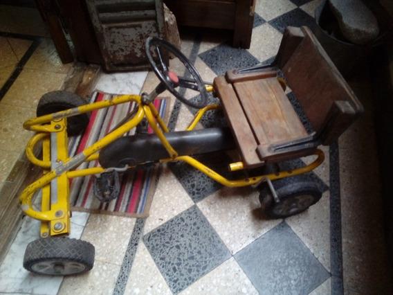 Antiguo Karting A Pedal Con Cadena