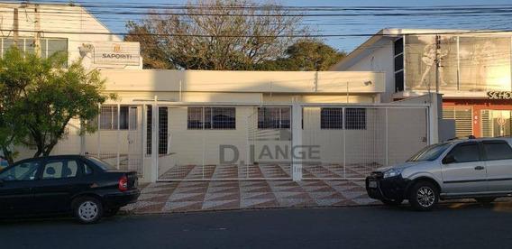 Casa Para Alugar, 145 M² Por R$ 4.900/mês - Jardim Bela Vista - Campinas/sp - Ca2037